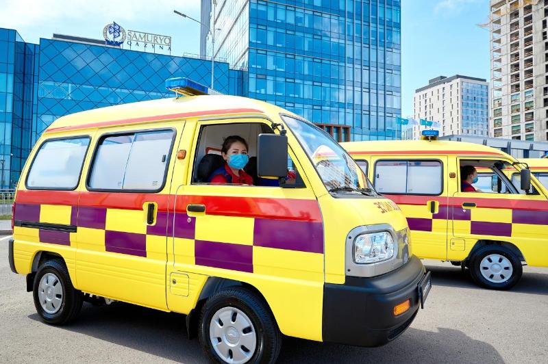 Новое оборудование и машины скорой помощи получили медучреждения Карагандинской области
