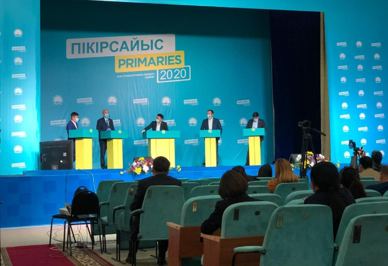 Дебаты кандидатов праймериз продолжаются в ЗКО