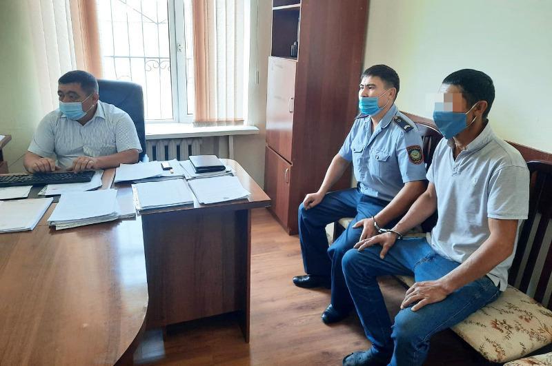 Водителя, скрывшегося после смертельного ДТП, задержали в Туркестанской области