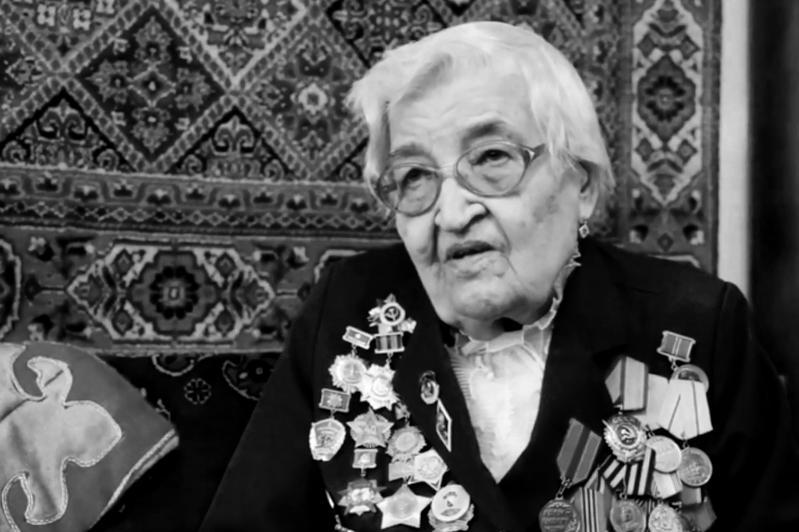 На 102-м году ушла из жизни старейшая участница ВОВ в Караганде