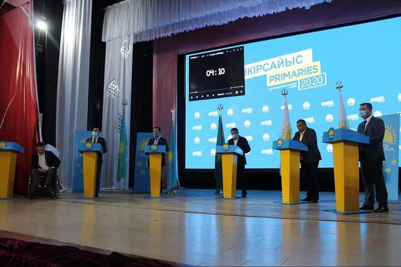 Праймериз: около 50 дебатов провели в Туркестанской области