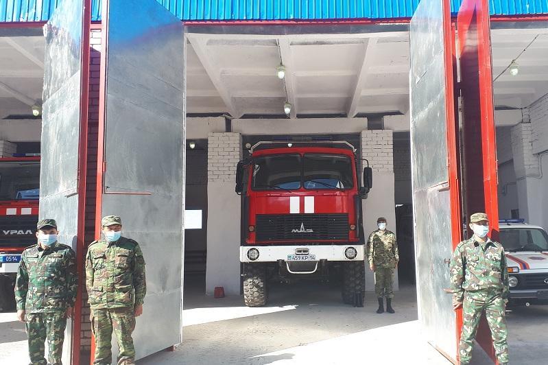 Новое здание для пожарных презентовали в Павлодарской области