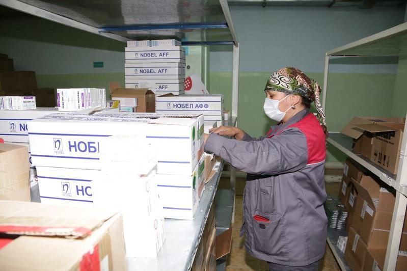 Жамбыл облысында дәрі-дәрмектің екі айлық қоры қалыптастырылуда