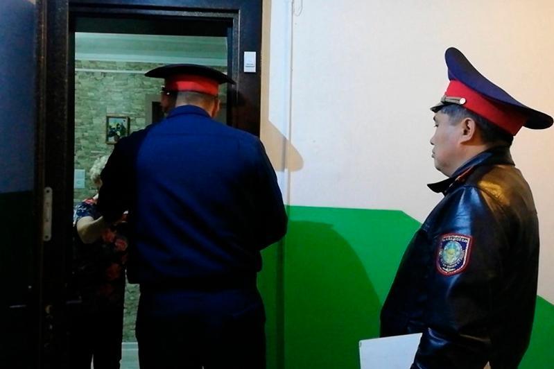 СҚО-да учаскелік полиция инспекторлары 1 желтоқсанға дейін үйлер мен пәтерлерді аралайды