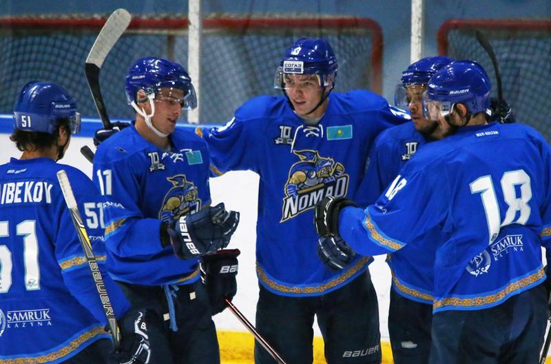 Елордалық «Номад» араға бір жыл салып хоккейден Қазақстан чемпионатына оралды