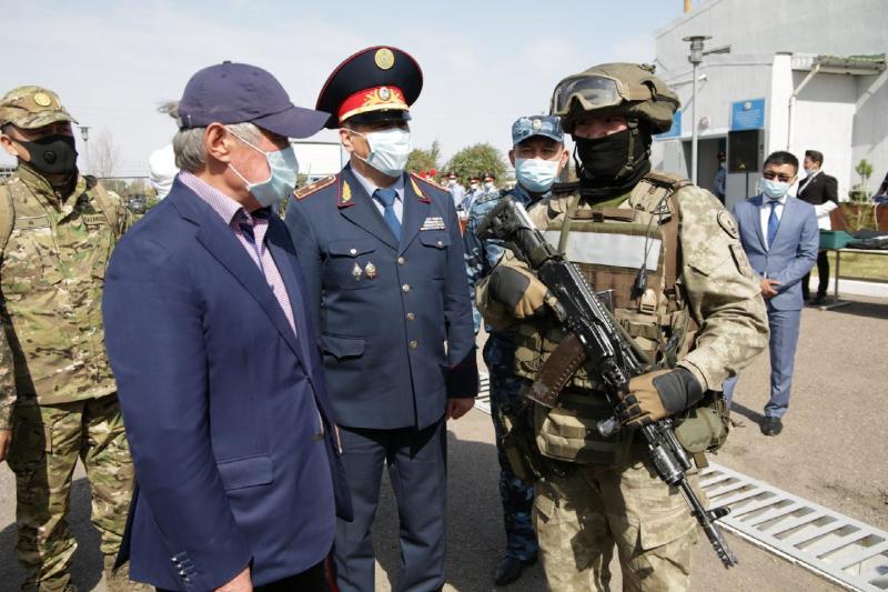 Бердибек Сапарбаевознакомился с ходом проведения «Карасора - 2020»
