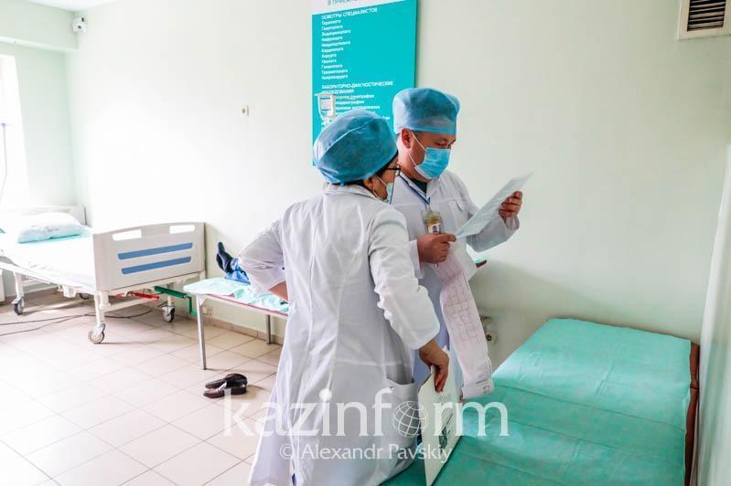 100 больных коронавирусом находятся в тяжелом состоянии - Минздрав РК
