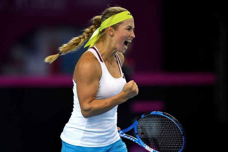 Юлия Путинцева вышла в третий круг турнира WTA в Риме