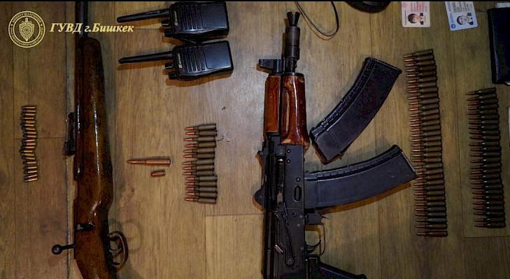 7名武装分子在吉尔吉斯首都被捕