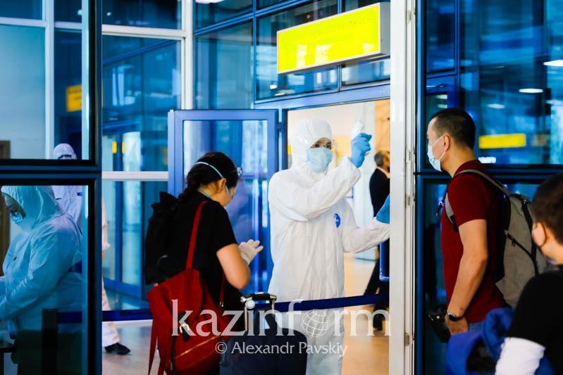 Внесены изменения в требования к прибывающим в Казахстан из-за рубежа