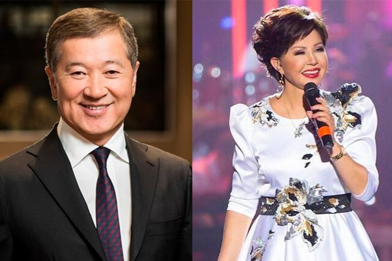 Булат Утемуратов и Роза Рымбаева стали почетными гражданами города Алматы