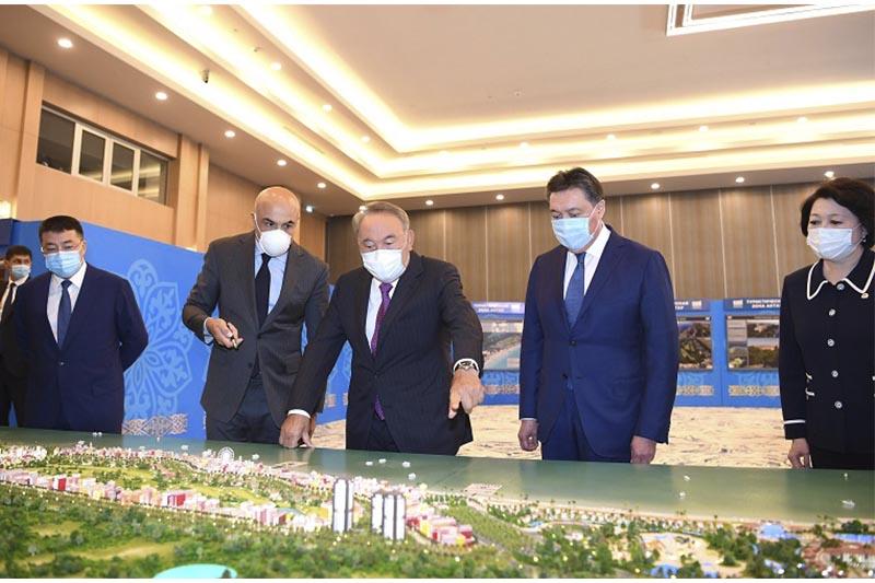 Нұрсұлтан Назарбаев Ақтауда халықаралық туристік хабтың таныстырылымына қатысты