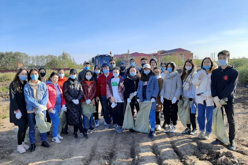 Экологические акции в рамках «World Clean up day 2020» проходятв Казахстане
