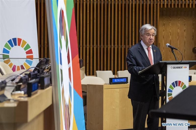 UN chief calls for political will for Sustainable Development Goals