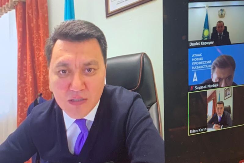 Члены Нацсовета общественного доверия РК обсудили актуальные вопросы с министром труда
