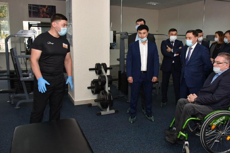 Первый спортивный комплекс для людей с ограниченными возможностями открыли в Кокшетау