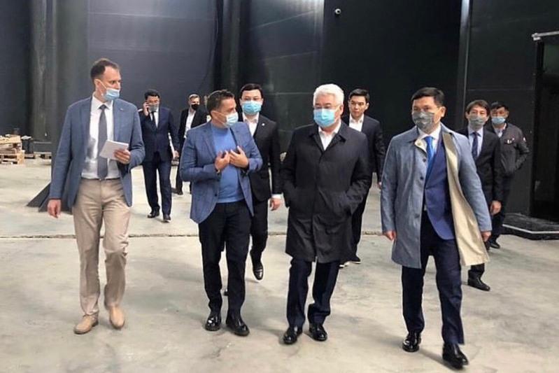 Бейбіт Атамқұлов Алматы Индустриялық аймағын аралап көрді