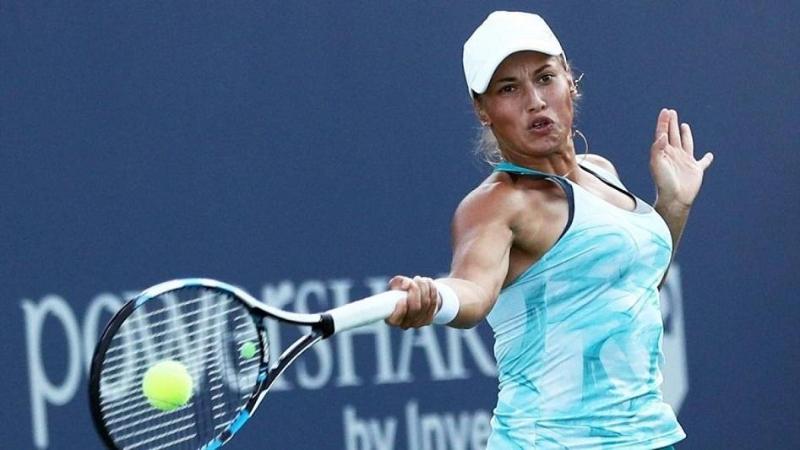 Юлия Путинцева снялась с турнира в Риме из-за проблем со спиной