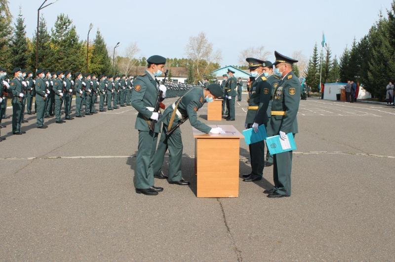 Қорғаныс министрлігі оқу орындарының курсанттары ант қабылдады