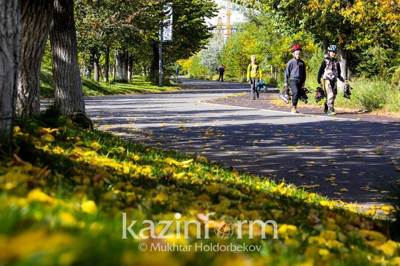 Погода без осадков ожидается на большей части территории Казахстана