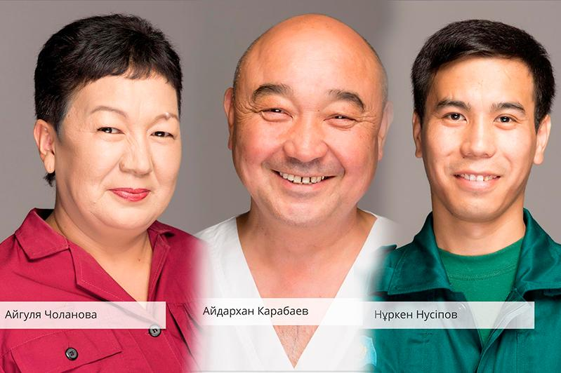 Выставка в знак благодарности врачам организована в Алматы