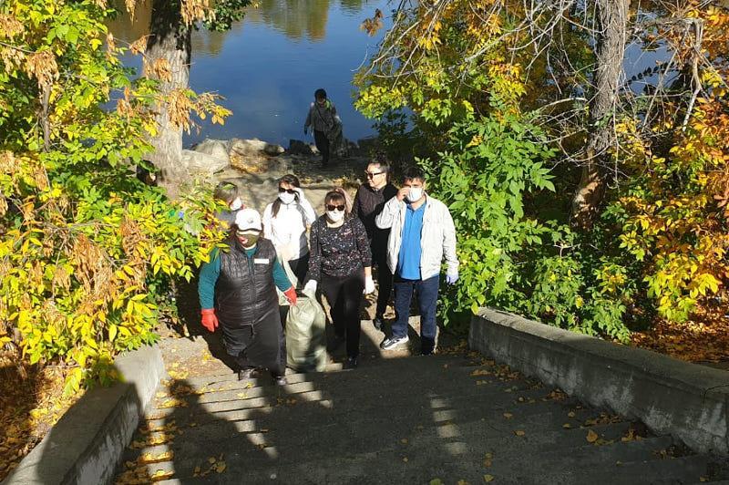 Более 30 тысяч восточноказахстанцев поддержали всемирную экоакцию  «World cleanup day»