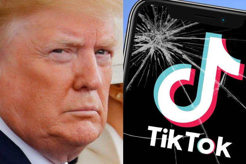 Trump says he backs TikTok deal that may allow its operations in U.S.