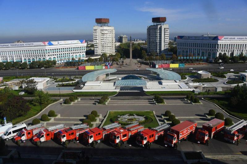Два новых пожарных депо строят по поручению акима в Алматы