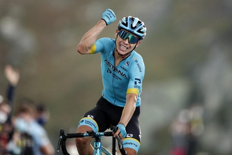 Капитан «Астаны» занял шестое место в велогонке «Тур де Франс»