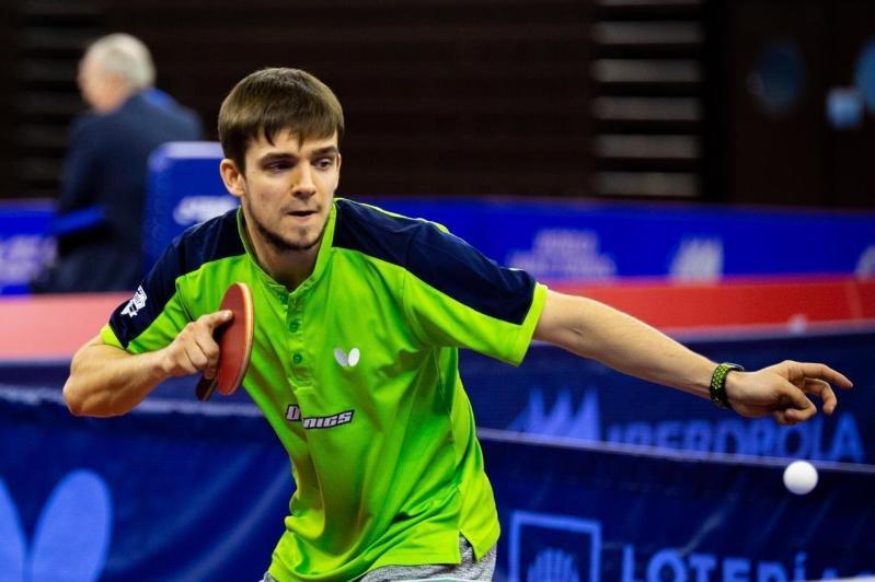 基里尔•格拉希曼科打入德国乒乓球国家杯决赛圈