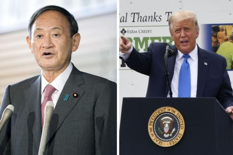 PM Suga, Trump vow to boost Japan-U.S. security alliance