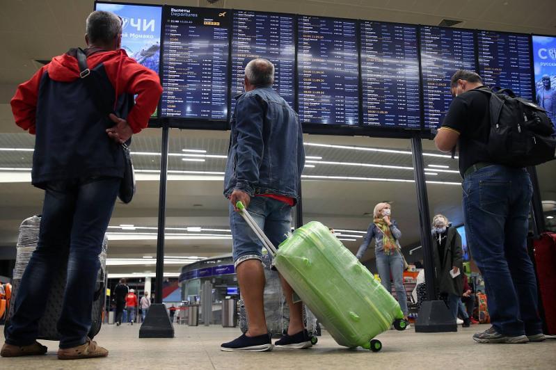 俄罗斯恢复与哈、吉、白俄罗斯和韩国的国际航班