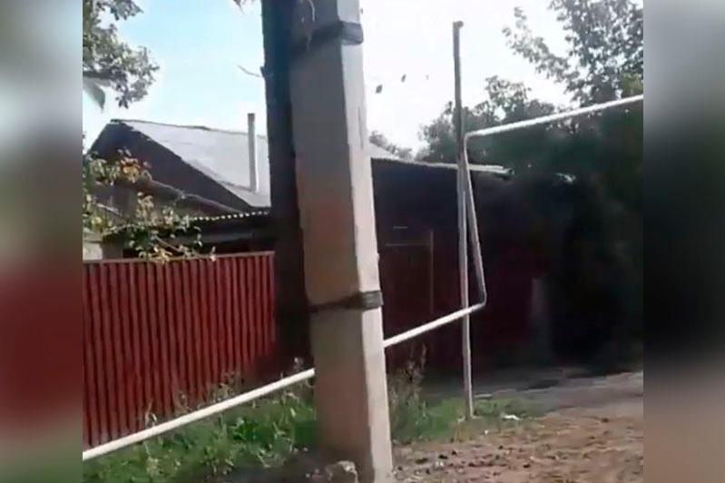 Ауыл тұрғындары газ құбырының сапасыз тартылғанына наразы - Алматы облысы