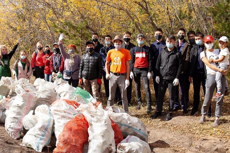 Экологические субботники прошли в Карагандинской области