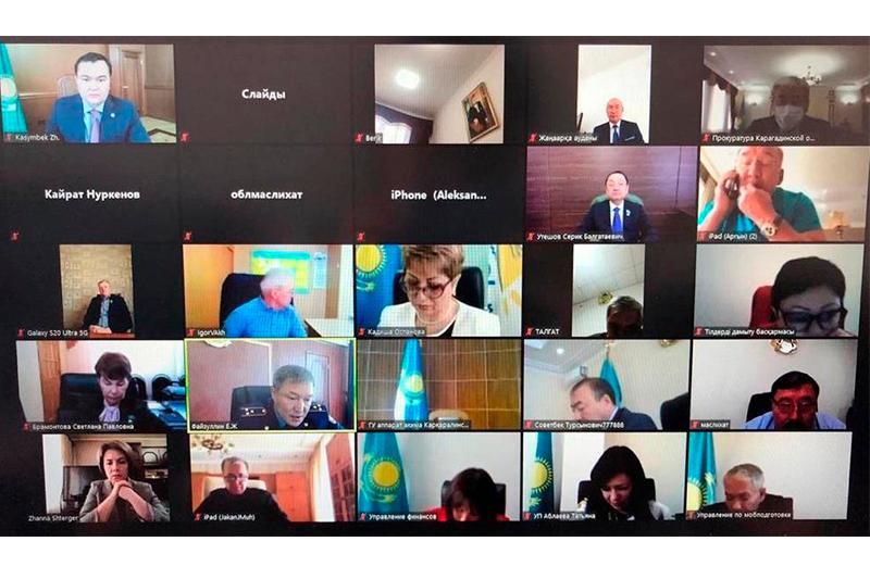 Жеңіс Қасымбек облыстық мәслихат депутаттарының алдында есеп берді