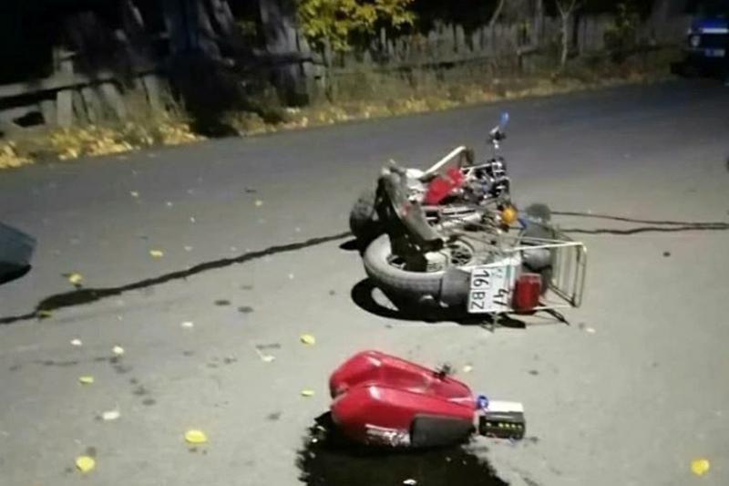 Мотоциклист погиб при столкновении с автомобилем в ВКО