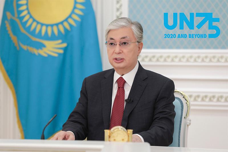 Kazakh President addressed High-Level Meeting to commemorate 75th Anniversary of UN