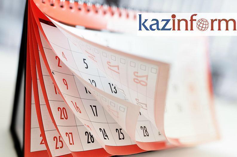 September 22. Kazinform's timeline of major events