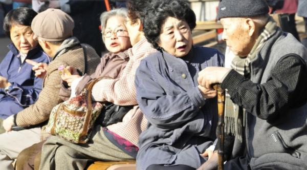 Жапонияда егде жастағы адамдар саны көбейді