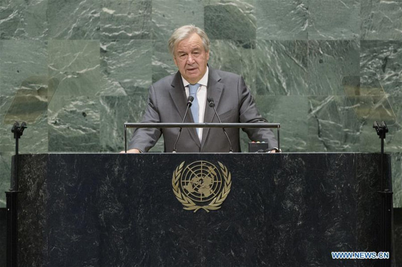 UN chief urges efforts to work together to improve world governance