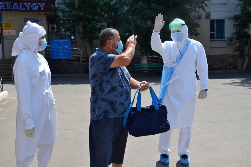 123 человека выздоровели от коронавируса в Казахстане за сутки