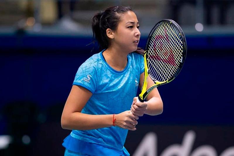 WTA признала Зарину Дияс автором лучшего удара дня на турнире во Франции