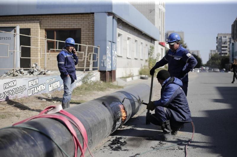 Водопроводные сети реконструируют в Семее