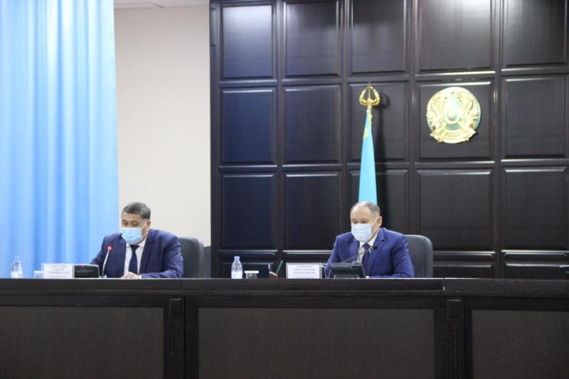 Актюбинские полицейские обсудили вопросы реализации Послания