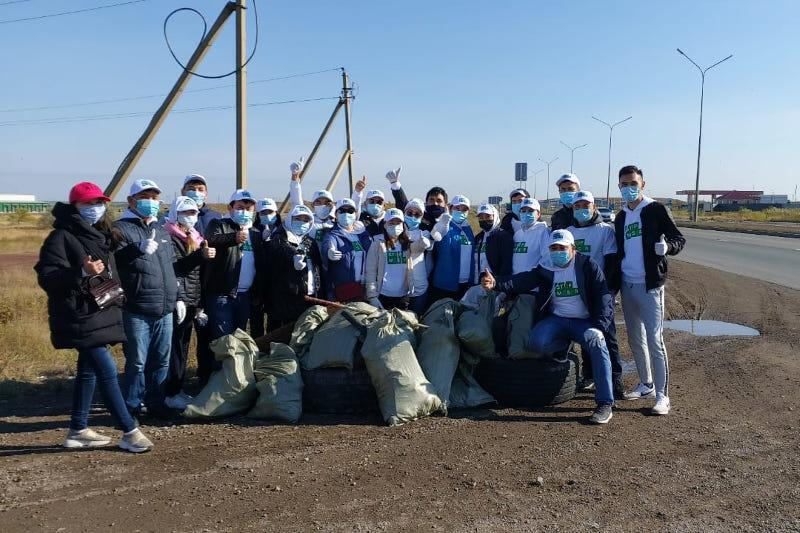 6,000 tons of waste collected on World Cleanup Day in Kazakhstan