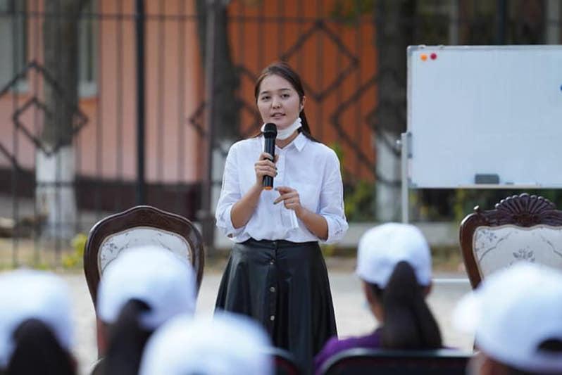 Семинар-тренинг для молодых активистов провели в Туркестане