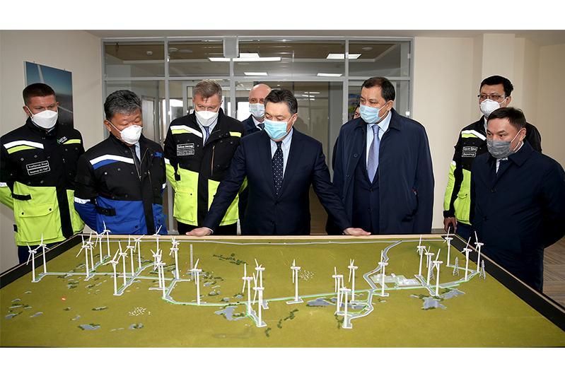 До конца года ВЭС «Астана EXPO-2017» выйдет на полную мощность в 100 МВт
