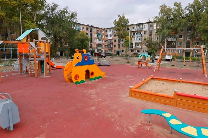 Свыше 50 дворов отремонтировали в Усть-Каменогорске