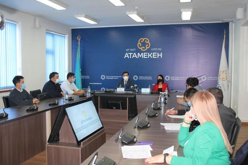 Меморандум подписали департамент Комитета атомного и энергонадзора и Палата предпринимателей Туркестанской области