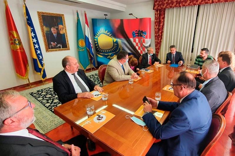 Заседание Общества хорватско-казахстанской дружбы прошло в Загребе